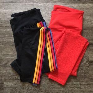 2PK almost new medium leggings